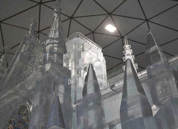 Ľadové sochy na Hrebienku už v prevádzke